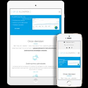 Responsive website laten ontwerpen